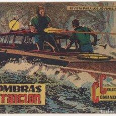 Tebeos: COLECCION COMANDOS Nº 19 (VALENCIANA 1957). Lote 131549998