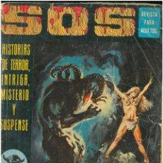 Livros de Banda Desenhada: SOS. Nº 9. AÑO 1. EDITORIAL VALENCIANA. C-27. Lote 131758578