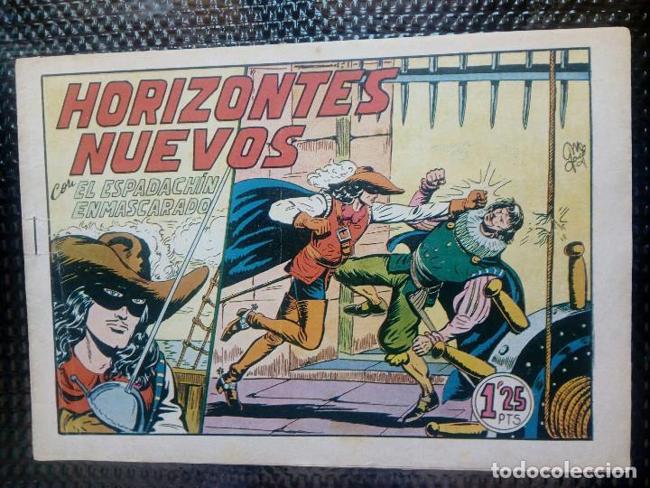 EL ESPADACHIN ENMASCARADO Nº 57 - ORIGINAL - EDT. VALENCIANA 1955 (M-5) (Tebeos y Comics - Valenciana - Espadachín Enmascarado)