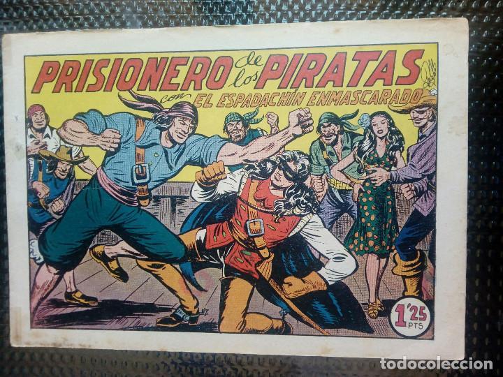 EL ESPADACHIN ENMASCARADO Nº 63 - ORIGINAL - EDT. VALENCIANA 1955 (M-5) (Tebeos y Comics - Valenciana - Espadachín Enmascarado)