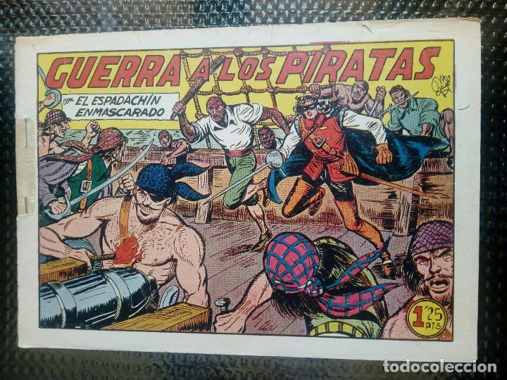 EL ESPADACHIN ENMASCARADO Nº 64 - ORIGINAL - EDT. VALENCIANA 1955 (M-5) (Tebeos y Comics - Valenciana - Espadachín Enmascarado)