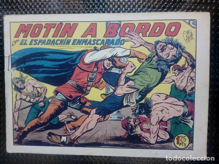 EL ESPADACHIN ENMASCARADO Nº 106 - ORIGINAL - EDT. VALENCIANA 1955 (M-5) (Tebeos y Comics - Valenciana - Espadachín Enmascarado)