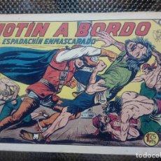 Tebeos: EL ESPADACHIN ENMASCARADO Nº 106 - ORIGINAL - EDT. VALENCIANA 1955 (M-5). Lote 131819682