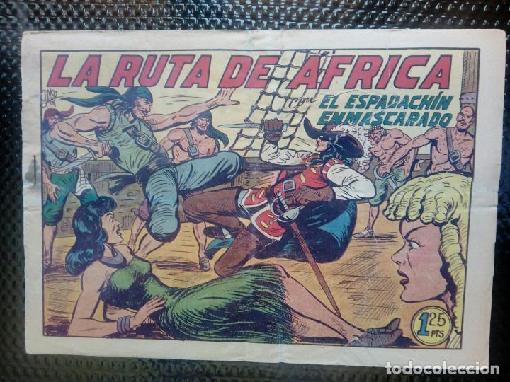 EL ESPADACHIN ENMASCARADO Nº 108 - ORIGINAL - EDT. VALENCIANA 1955 (M-5) (Tebeos y Comics - Valenciana - Espadachín Enmascarado)