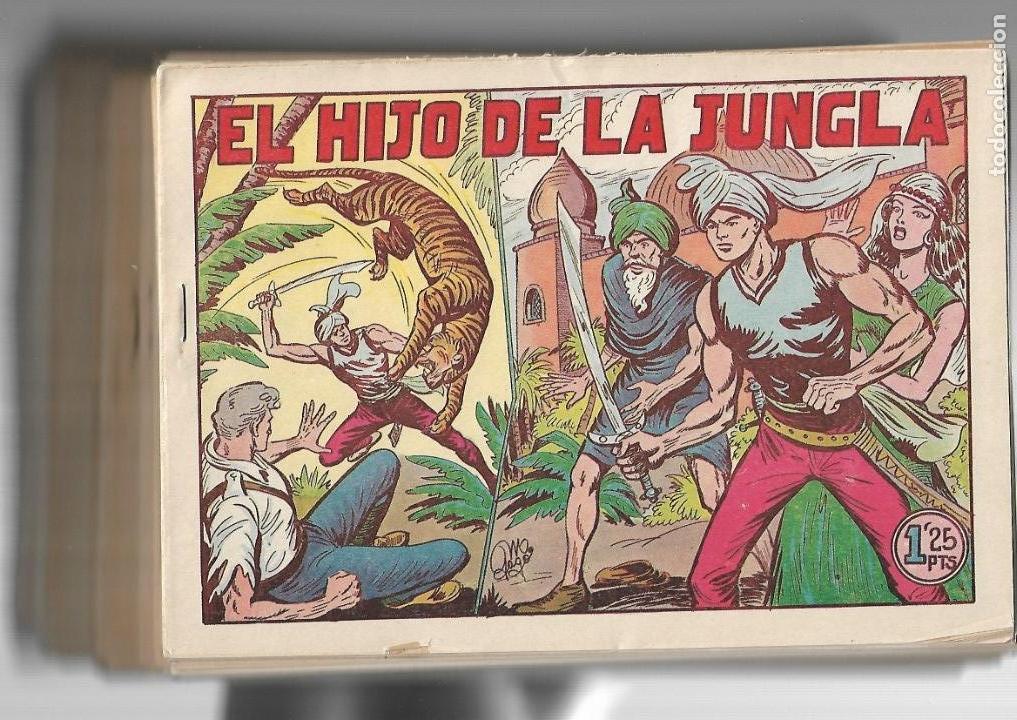 EL HIJO DE LA JUNGLA, AÑO 1956 COLECCIÓN COMPLETA SON 86 TEBEOS SIN ABRIR SON ORIGINALES DE M. GAGO (Tebeos y Comics - Valenciana - Hijo de la Jungla)