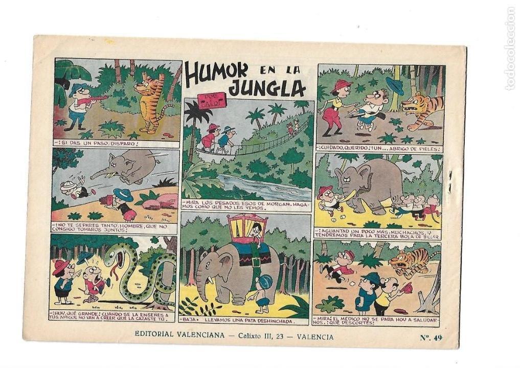 Tebeos: El Hijo de la Jungla, Año 1956 Colección Completa son 86 Tebeos sin Abrir son Originales de M. Gago - Foto 3 - 131652478