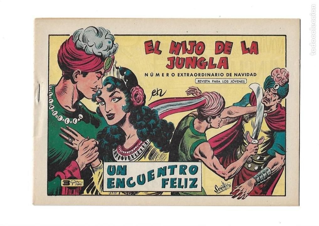 Tebeos: El Hijo de la Jungla, Año 1956 Colección Completa son 86 Tebeos sin Abrir son Originales de M. Gago - Foto 4 - 131652478