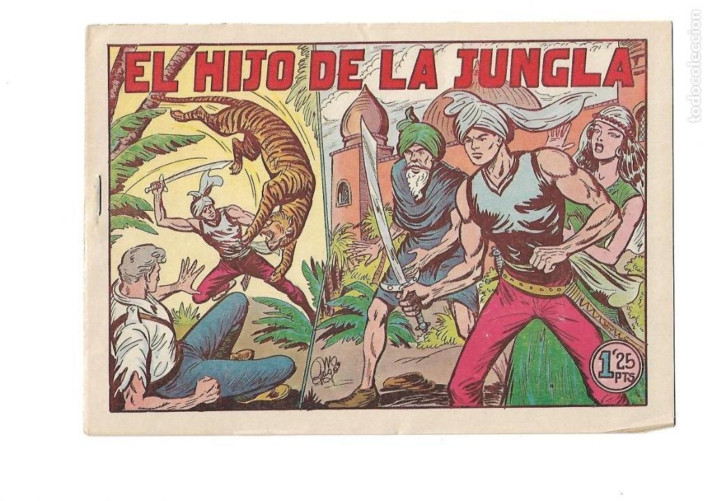Tebeos: El Hijo de la Jungla, Año 1956 Colección Completa son 86 Tebeos sin Abrir son Originales de M. Gago - Foto 6 - 131652478