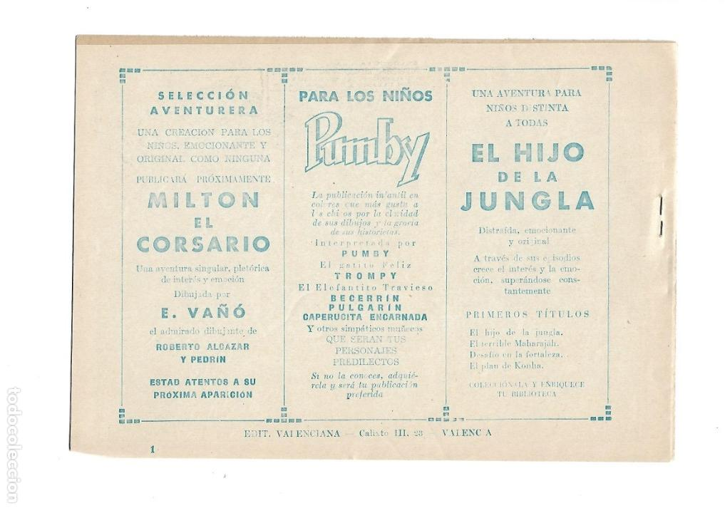 Tebeos: El Hijo de la Jungla, Año 1956 Colección Completa son 86 Tebeos sin Abrir son Originales de M. Gago - Foto 7 - 131652478