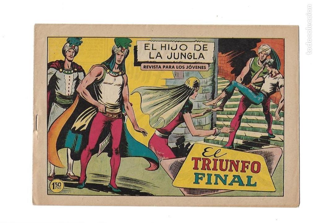 Tebeos: El Hijo de la Jungla, Año 1956 Colección Completa son 86 Tebeos sin Abrir son Originales de M. Gago - Foto 8 - 131652478