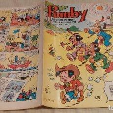 Tebeos: PUMBY Nº 1013. VALENCIANA 1977. Lote 132140494