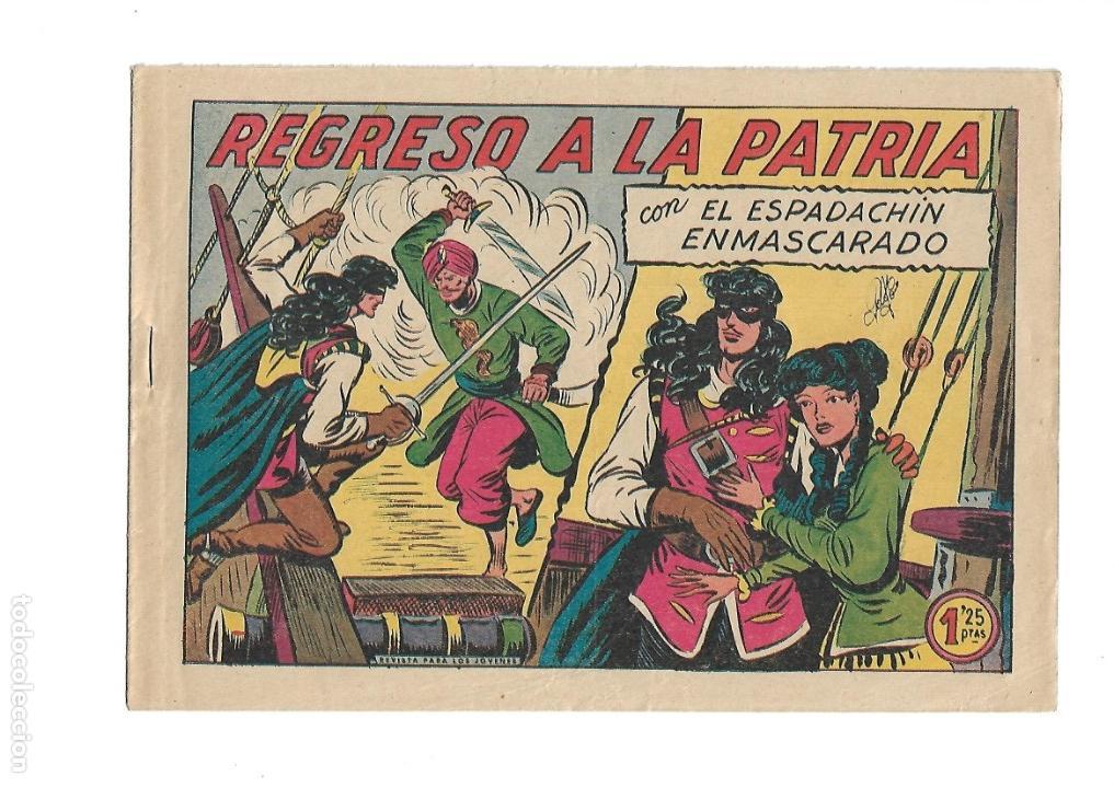 Tebeos: El Espadachin Enmascarado, Año 1952 Colección Completa son 252 + 2 Almanaques 1956 y 1957 Originales - Foto 14 - 131652022
