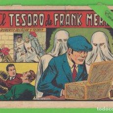 Tebeos: ROBERTO ALCÁZAR Y PEDRÍN - Nº 353 - EL TESORO DE FRANK MERRILL - VALENCIANA - (1957).. Lote 132402206