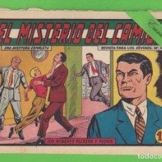 BDs: ROBERTO ALCÁZAR Y PEDRÍN - Nº 378 - EL MISTERIO DEL CAMIÓN - VALENCIANA - (1958).. Lote 132466178