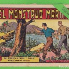 Tebeos: ROBERTO ALCÁZAR Y PEDRÍN - Nº 380 - EL MONSTRUO MARINO - VALENCIANA - (1958).. Lote 132466630