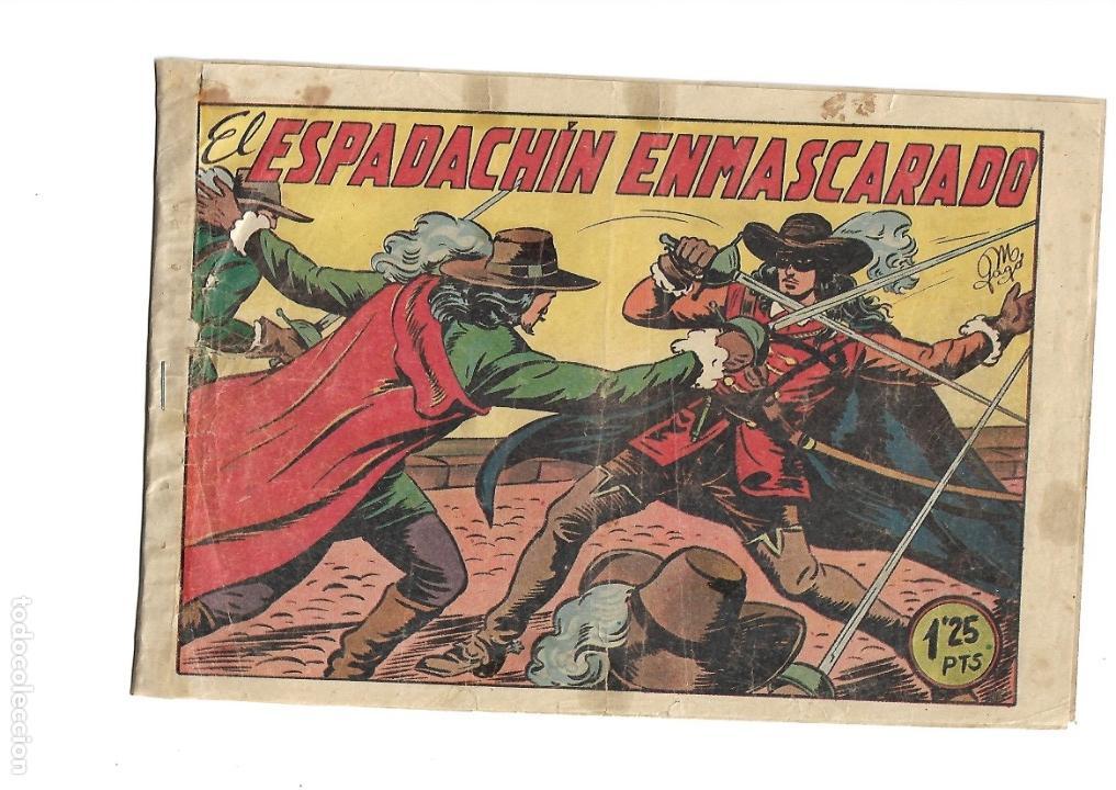 Tebeos: El Espadachin Enmascarado, Año 1952 Colección Completa son 252 + 2 Almanaques 1956 y 1957 Originales - Foto 10 - 131652022
