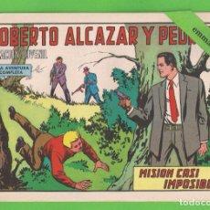 Tebeos: ROBERTO ALCÁZAR Y PEDRÍN - Nº 1064 - MISIÓN CASI IMPOSIBLE - VALENCIANA - (1973).. Lote 132593298