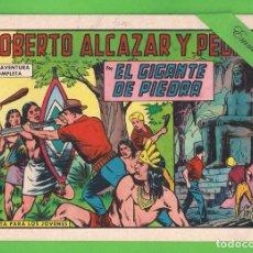 Tebeos: ROBERTO ALCÁZAR Y PEDRÍN - Nº 689 - EL GIGANTE DE PIEDRA - VALENCIANA - (1965).. Lote 132600946
