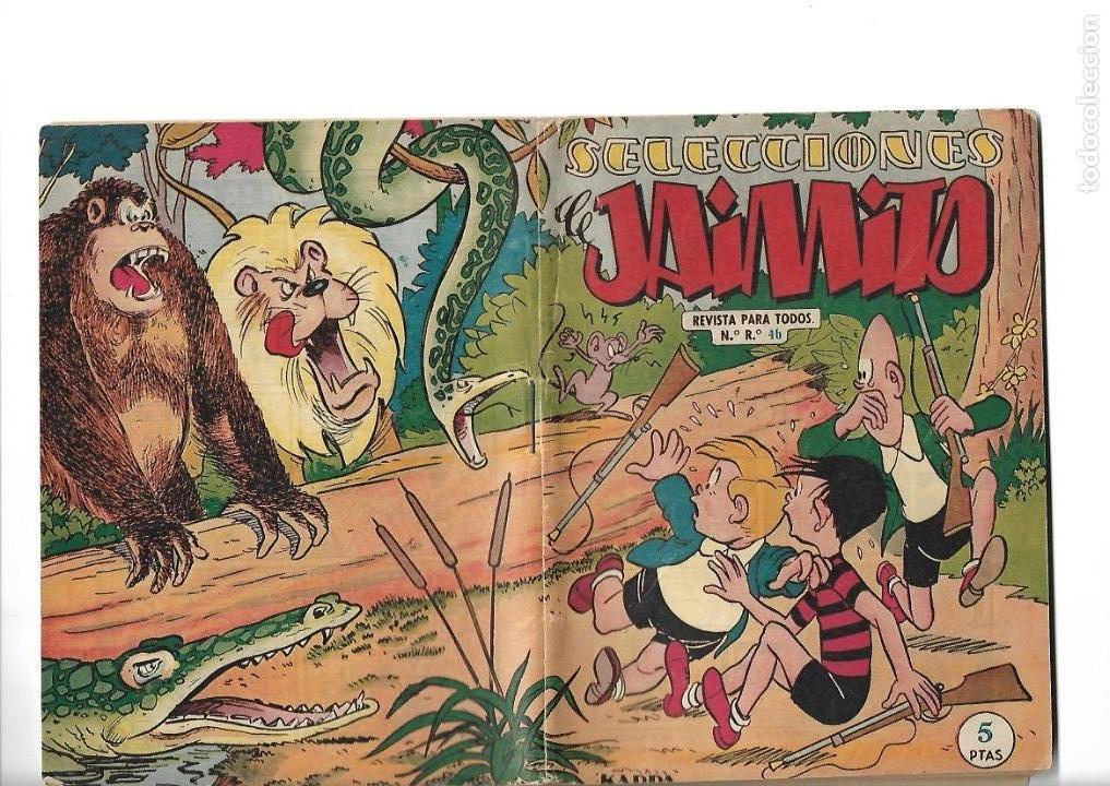 Tebeos: Selecciones de Jamito, Año 1.958. Lote de 67. Tebeos Originales esta el Nº 1 y el 191. - Foto 3 - 132080278
