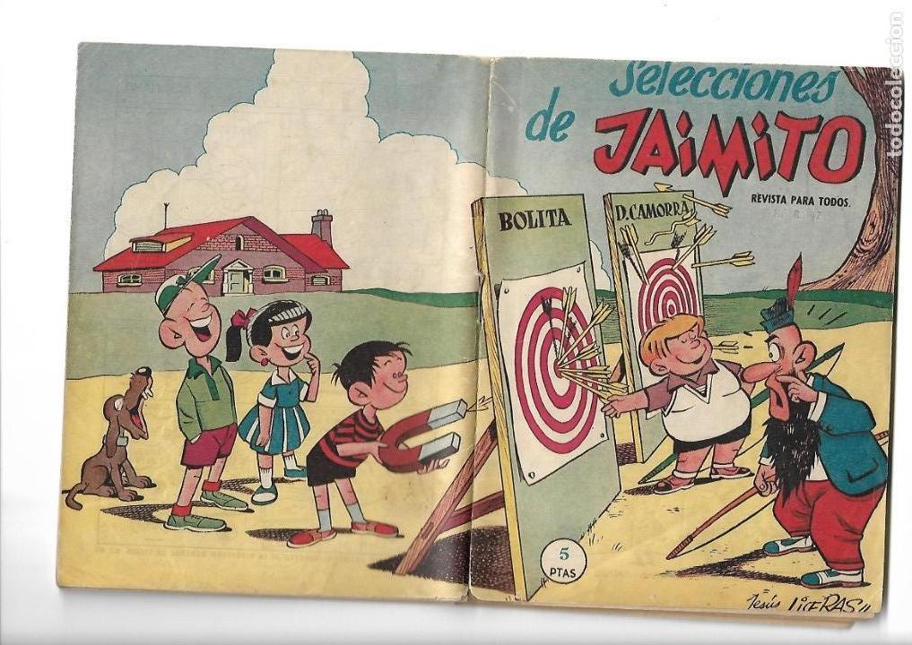 Tebeos: Selecciones de Jamito, Año 1.958. Lote de 67. Tebeos Originales esta el Nº 1 y el 191. - Foto 4 - 132080278