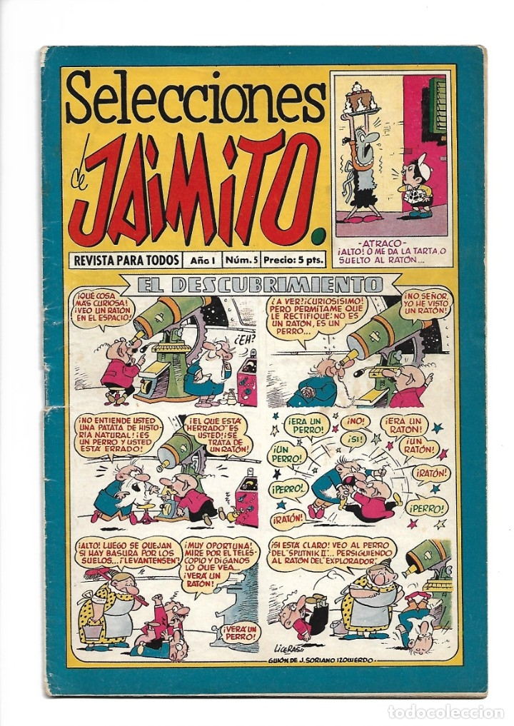 Tebeos: Selecciones de Jamito, Año 1.958. Lote de 67. Tebeos Originales esta el Nº 1 y el 191. - Foto 6 - 132080278