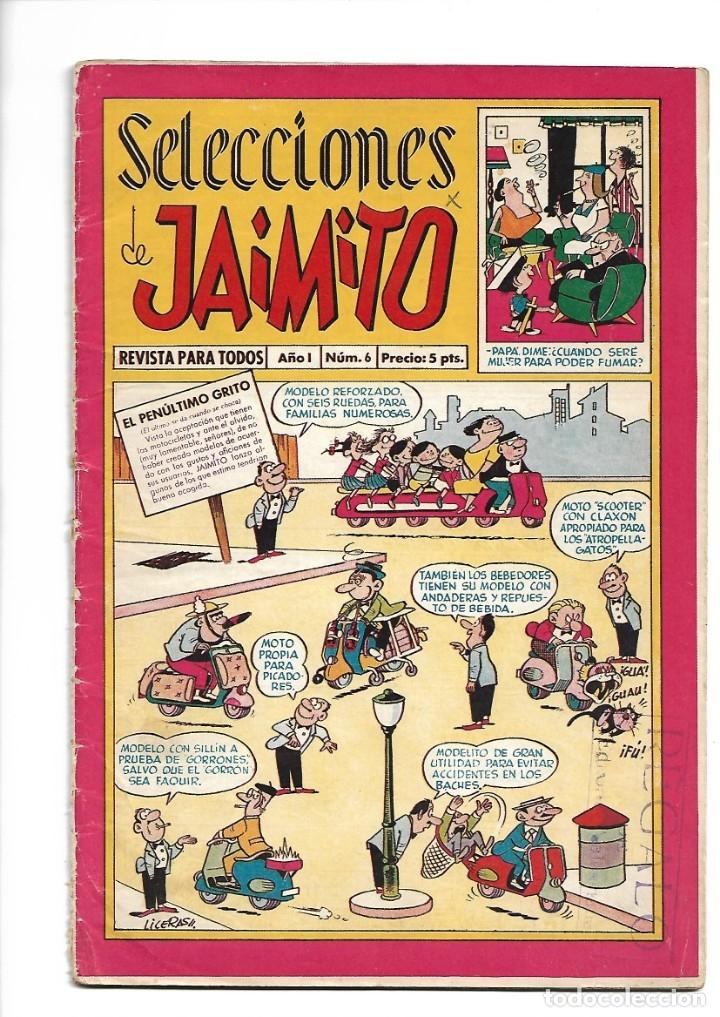 Tebeos: Selecciones de Jamito, Año 1.958. Lote de 67. Tebeos Originales esta el Nº 1 y el 191. - Foto 8 - 132080278