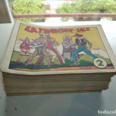 Tebeos: EL PEQUEÑO LUCHADOR, AÑO 1.945 COLECCIÓN COMPLETA SON 230 TEBEOS ORIGINALES HAY 177 TEBEOS SIN ABRIR. Lote 132706686