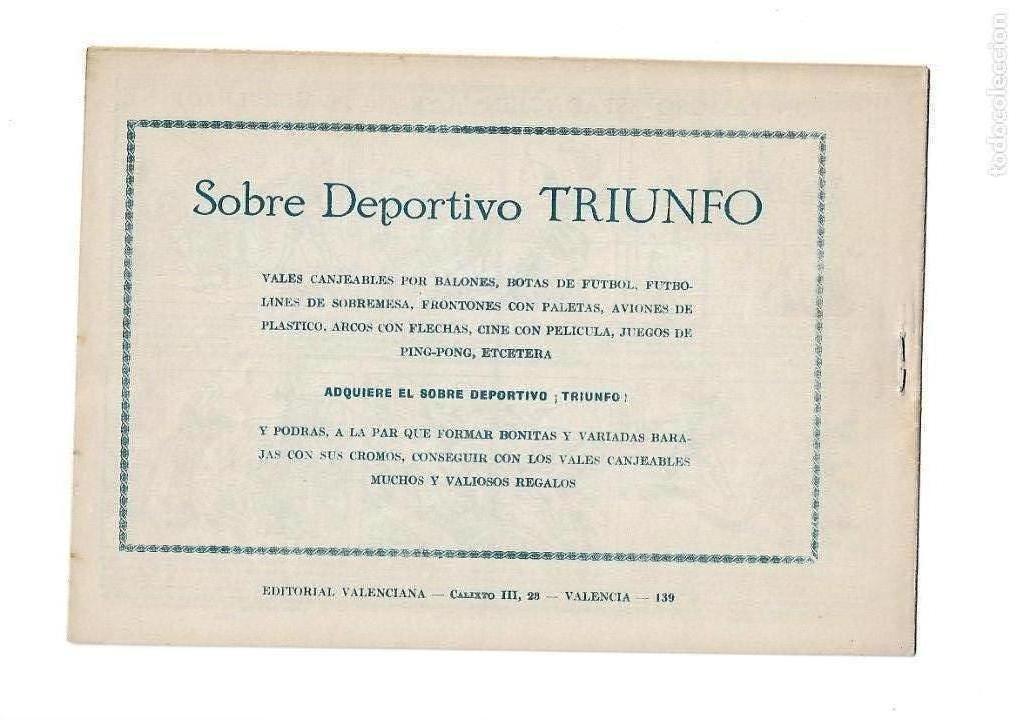 Tebeos: El Espadachin Enmascarado, Año 1952 Colección Completa son 252 + 2 Almanaques 1956 y 1957 Originales - Foto 5 - 131652022