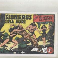 Tebeos: PURK EL HOMBRE DE PIEDRA-FASCIMIL-B/N-REEDICION-AÑO 1950-VALENCIANA-Nº 2-PRISIONEROS DE LA REINA..... Lote 133049186