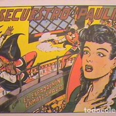 Tebeos: EL ESPADACHIN ENMASCARADO / EL SECUESTRO DE PAULINA Nº 8 (FACSIMIL). Lote 133051674