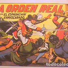 Tebeos: EL ESPADACHIN ENMASCARADO / LA ORDEN REAL Nº 6 (FACSIMIL). Lote 133052010