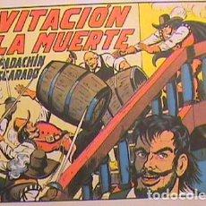 Tebeos: EL ESPADACHÍN ENMASCARADO / INVITACIÓN A LA MUERTE Nº 7 (FACSIMIL). Lote 133053518
