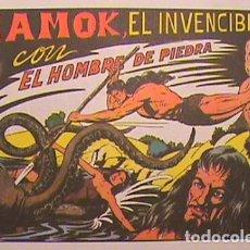 Tebeos: PURK EL HOMBRE DE PIEDRA / MAMOK EL INVENCIBLE Nº 5 (FACSIMIL). Lote 133055178
