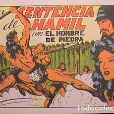 Tebeos: PURK, EL HOMBRE DE PIEDRA / LA SENTENCIA DE HAMIL Nº 7 (FACSIMIL B) . Lote 133055386