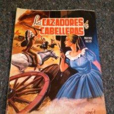 Tebeos: LOS CAZADORES DE CABELLERAS, SELECCIÓN DE AVENTURAS ILUSTRADAS, AÑO 1959 -. Lote 133053650