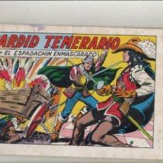 Tebeos: EL ESPADACHIN ENMASCARADO-AÑO 1981-B/N-VALENCIANA-FACSÍMIL-SEGUNDA EDICION-Nº 49-ARDID TEMERARIO. Lote 133094090