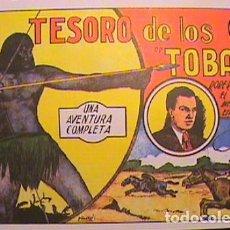 Tebeos: ROBERTO ALCAZAR / EL TESORO DE LOS TOBAS Nº 4 (FACSIMIL). Lote 133095934