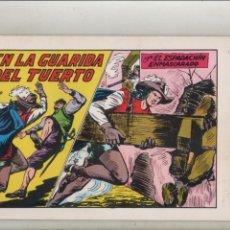 Tebeos: EL ESPADACHIN ENMASCARADO-AÑO 1981-B/N-VALENCIANA-FACSÍMIL-SEGUNDA EDICION-Nº 45-EN LA GUARIDA DEL... Lote 133096502