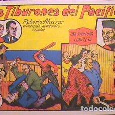 Tebeos: ROBERTO ALCAZAR / LOS TIBURONES DEL PACIFICO Nº 7 (FACSIMIL). Lote 133096562
