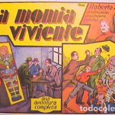 Tebeos: ROBERTO ALCAZAR / LA MOMIA VIVIENTE Nº 6 (FACSIMIL). Lote 133097042