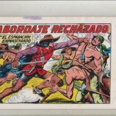 Tebeos: EL ESPADACHIN ENMASCARADO-AÑO 1981-B/N-VALENCIANA-FACSÍMIL-2º EDICION-APAISADO-REEDICION-Nº 41. Lote 133097194