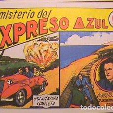 Tebeos: ROBERTO ALCAZAR / EL MISTERIO DEL EXPRESO AZUL Nº 3 (FACSIMIL). Lote 133097946