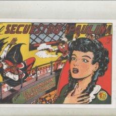Tebeos: EL ESPADACHÍN ENMASCARADO-AÑO 1952-B/N-VALENCIANA-FACSIMIL-REEDICION-APAISADO-Nº 8-EL SECUESTRO DE... Lote 133098246