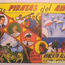 Tebeos: ROBERTO ALCAZAR / LOS PIRATAS DEL AIRE Nº 1 (FACSIMIL). Lote 133098394