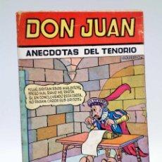 Tebeos: COLECCIÓN CASCABEL. DON JUAN, DON JUAN (EL FOGONERO BLANCO / KARPA) VALENCIANA, CIRCA 1955. Lote 133229757