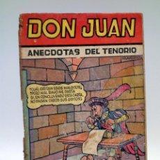Tebeos: COLECCIÓN CASCABEL. DON JUAN, DON JUAN (EL FOGONERO BLANCO / KARPA) VALENCIANA, CIRCA 1955. Lote 133229761