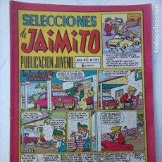 Tebeos: SELECCIONES DE JAIMITO Nº 121 MUY BIEN CONSERVADO, . Lote 133257182