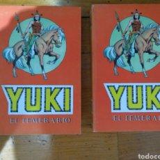 Tebeos: YUKI EL TEMERARIO COMPLETA EN 2 TOMOS EDITORIAL VALENCIANA 1976. Lote 133559686
