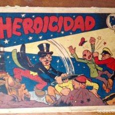 Tebeos: PROFESOR CARAMBOLA-NÚMERO 15-HEROICIDAD-VALENCIANA-PRIMERA EPOCA 1945-ORIGINAL. Lote 134015526
