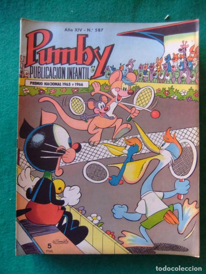 PUMBY Nº 587 EDITORIAL VALENCIANA (Tebeos y Comics - Valenciana - Pumby)